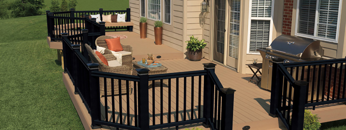 TimberTech® Decking - Wood-Plastic Composite